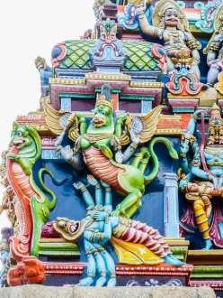 Détails des Gopurams de Madurai