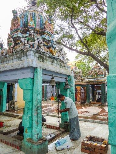 Un petit temple dans Madurai