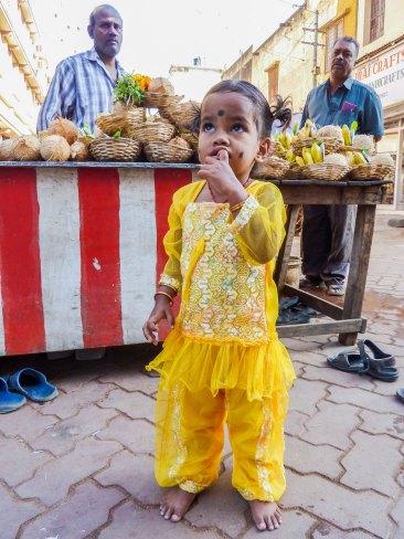 Portrait d'enfant à Madurai