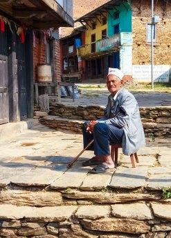 La vie est douce pour les ainés à Bandipur