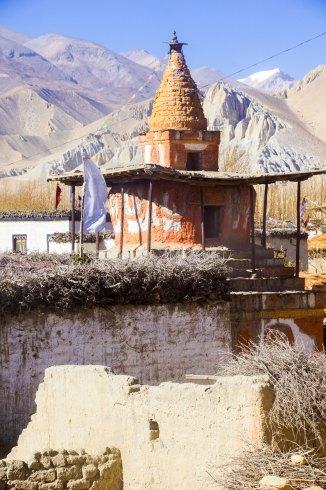 Les Chörtens du Mustang au Népal