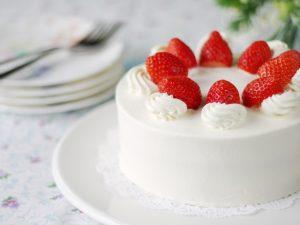 ホールケーキ 上手な切り方