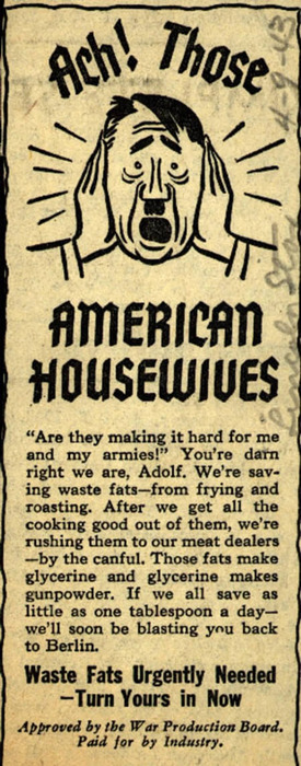 hitler vs american housewives