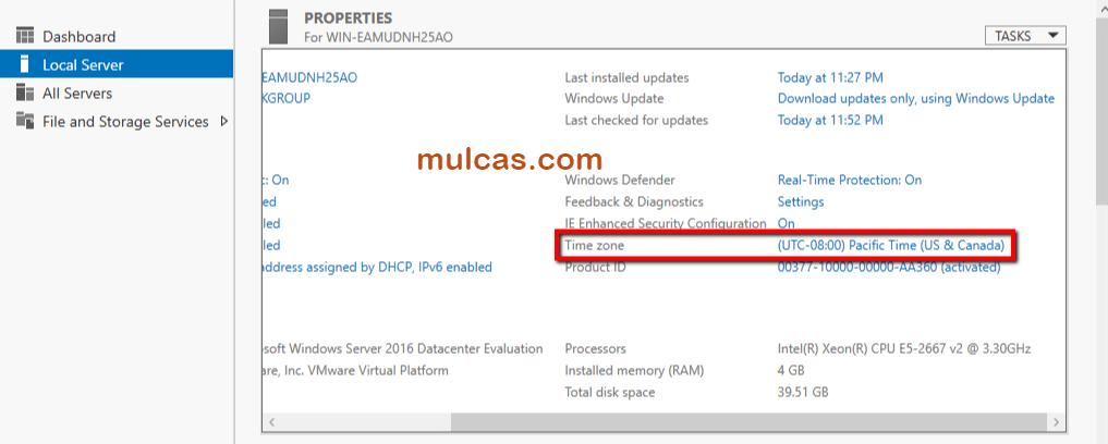 VDI-LAB-2018 – Part 4 – Creating a Windows server 2016 template – mulcas