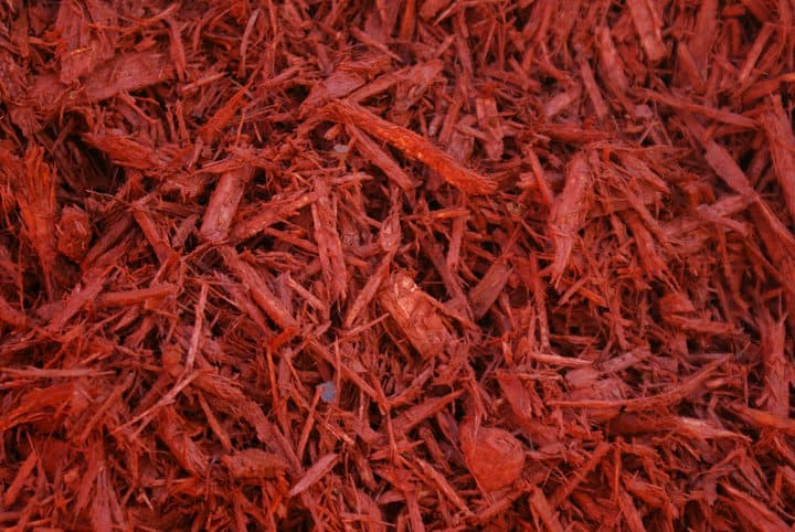Red Mulch Bulk Delivery Installation Available