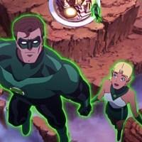 "Green Lantern Emerald Knights, ""DC dont Socialize,"" Reseña de las Verdes aventuras de los Corps animados"