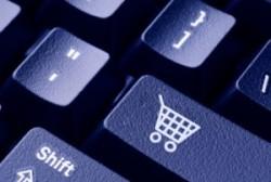 webwinkel winkelwagen toetsenbord