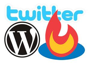 twitter feedburner wordpress