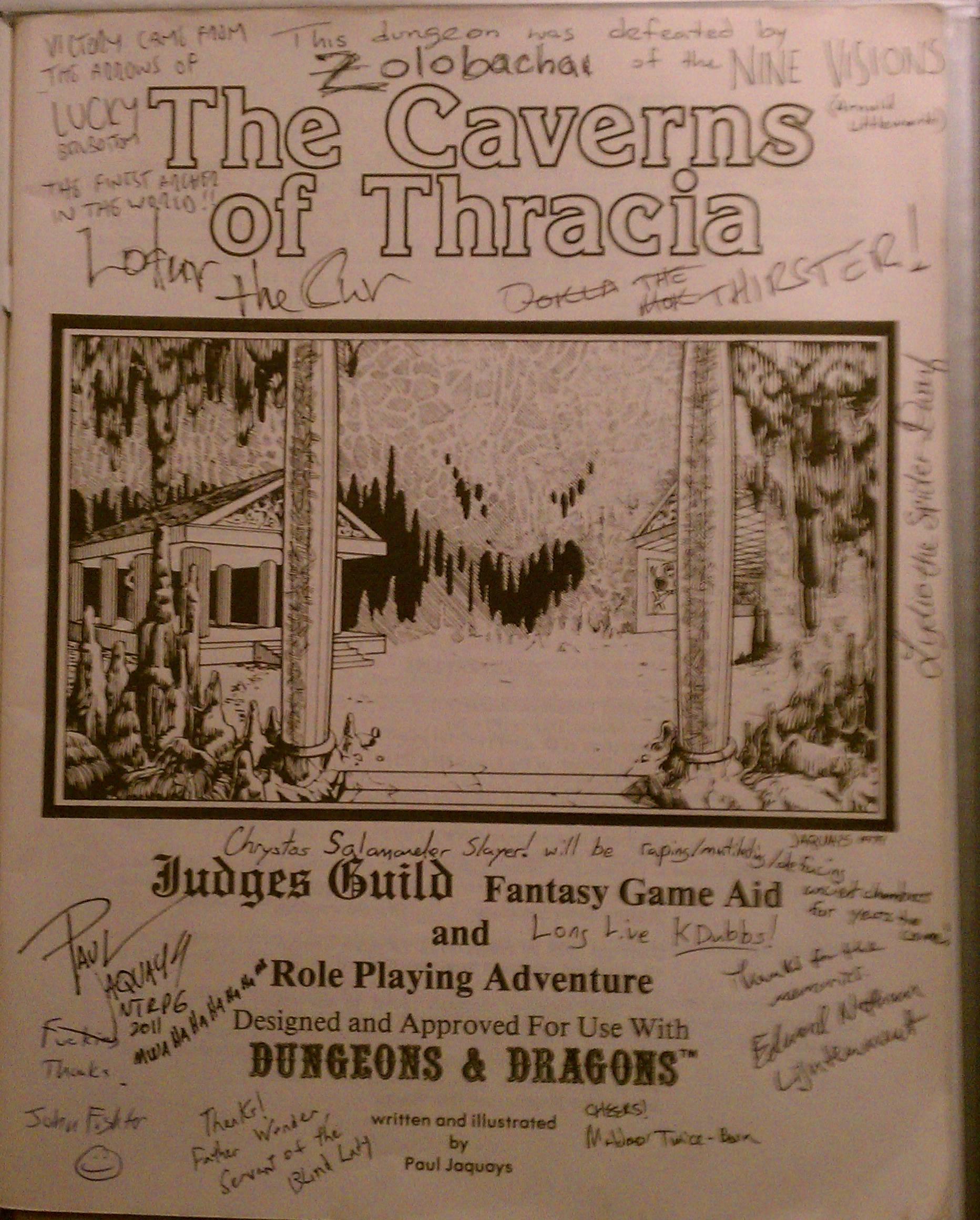"""Caverns Of Thracia : caverns, thracia, Caverns, Thracia:, """"Mwa, Ha"""", Abides"""
