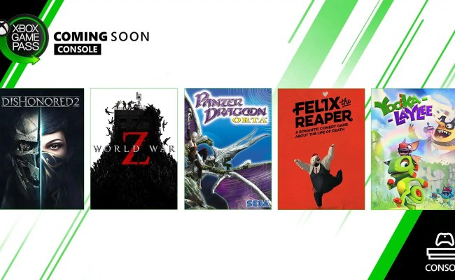 Xbox Game Pass October Additions Mulehorn Gaming