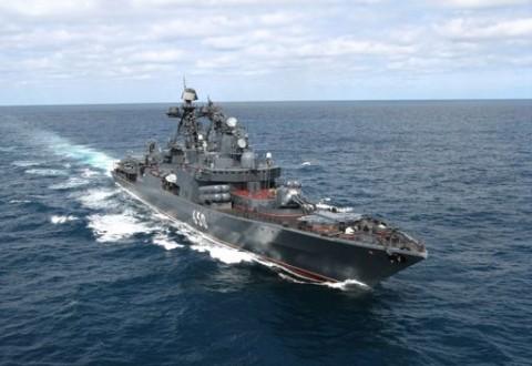 سفن حربية روسية تطرد غواصة هولندية من البحر المتوسط Mulhak