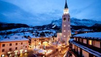O Centro de Cortina no inverno, em foto do Expedia