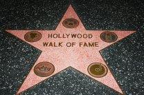 hollywood Estrela na Calçada da Fama