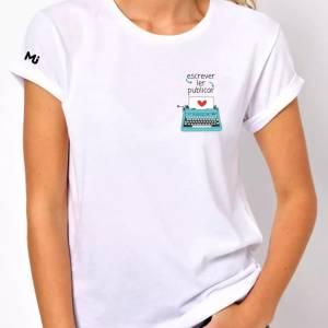 camiseta instituto mulheres jornalistas, ler, escrever, publicar, camisetas, mulheres jornalistas