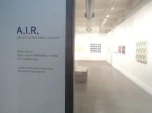 Antigo espaço da AIR Gallery, na Front Street