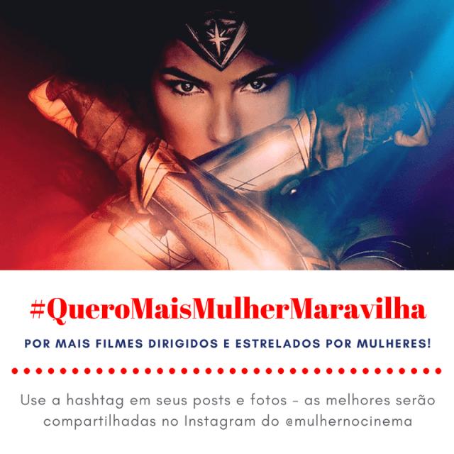 #EuViMulherMaravilha