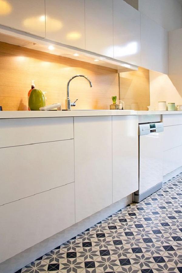 Pisos Decorativos para Sua Cozinha  Fotos de 20 modelos