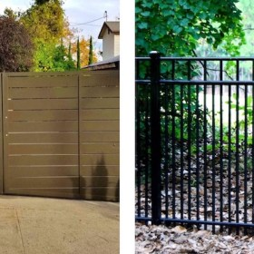 privacy vs traditional fence