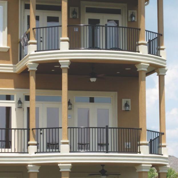ultra signature aluminum balcony railing