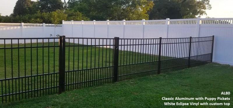 vinyl vs aluminum fence