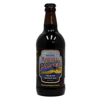 Hammerpot Brewery - bottle wreck