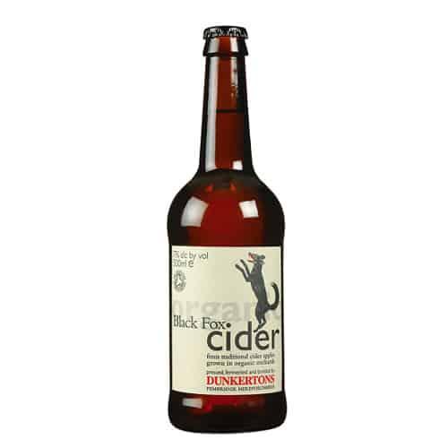dunkertons black fox cider