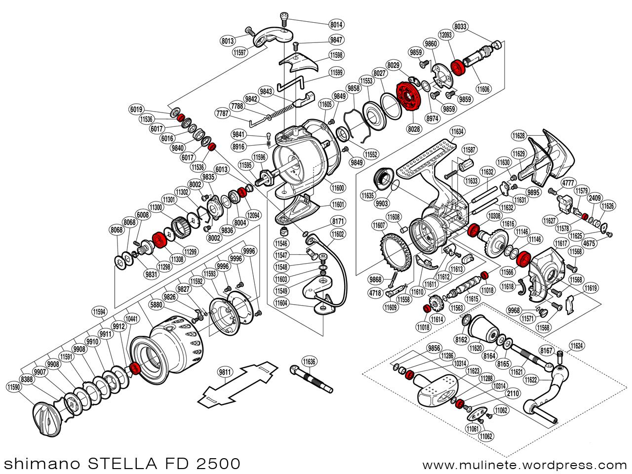 Shimano Stella Fd