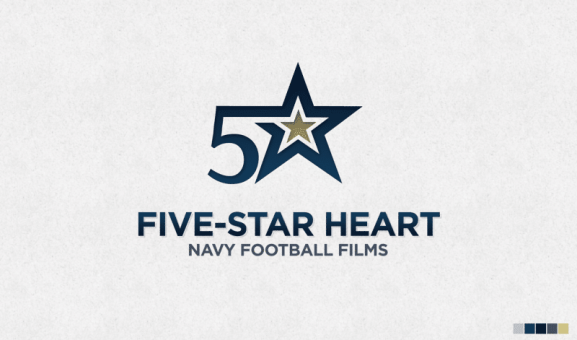 Navy Football – Five-Star Heart