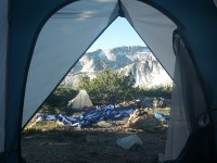 24. view from tent