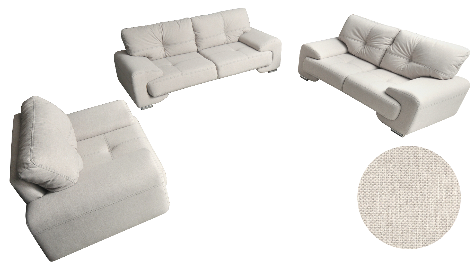 Couch 3er 2er Sessel Sofagarnitur Sofa Set Couch 3er 2er Sessel 3 2 1