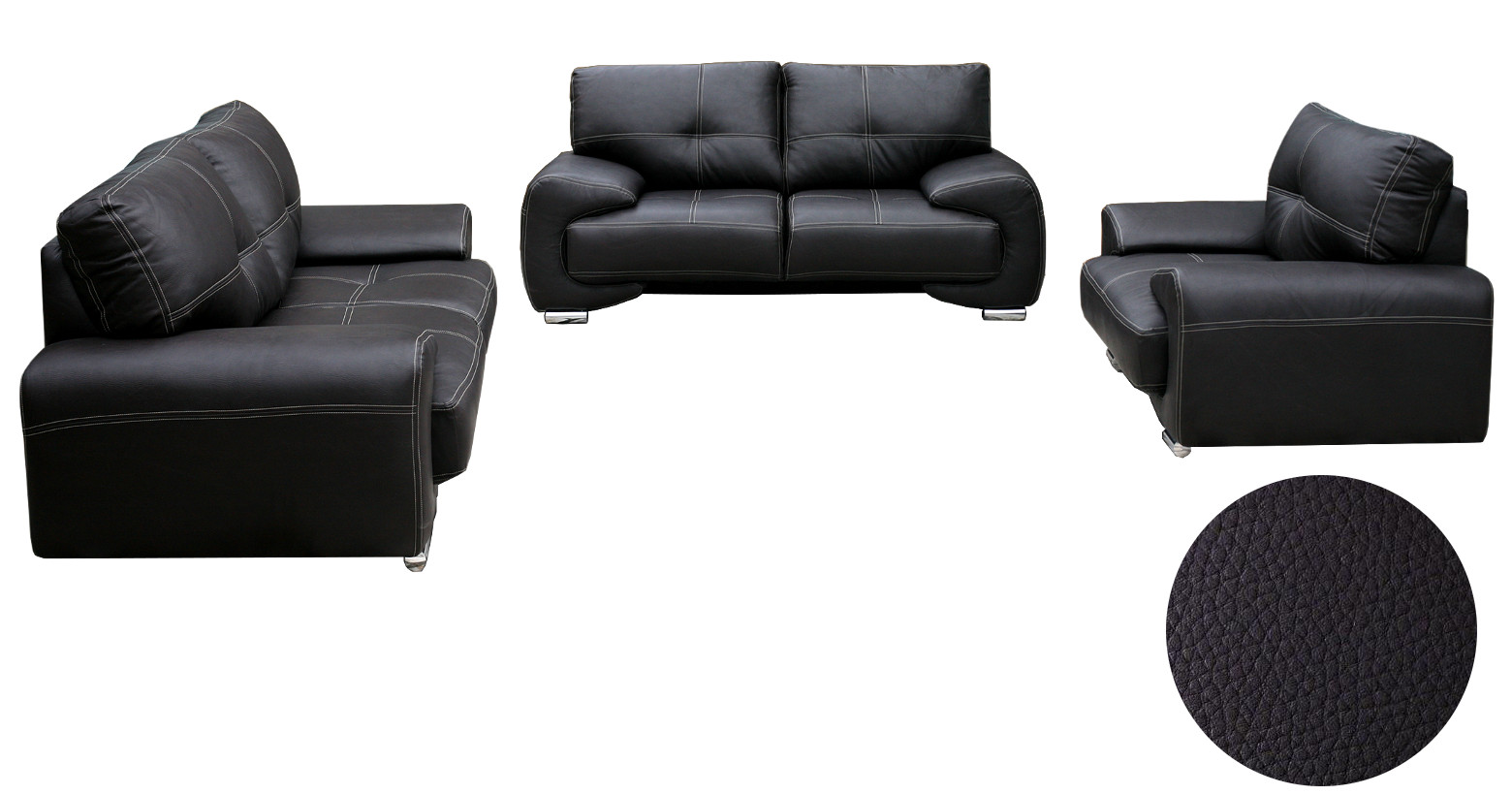 Couch 3er 2er Sessel Wohnlandschaft Sofa Set Couch 3er 2er Sessel 3 2 1