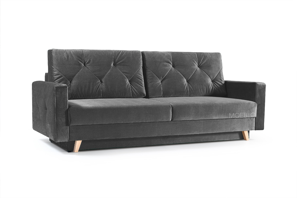 Elegante Couch mit Schlaffunktion Big Sofa Schlafsofa
