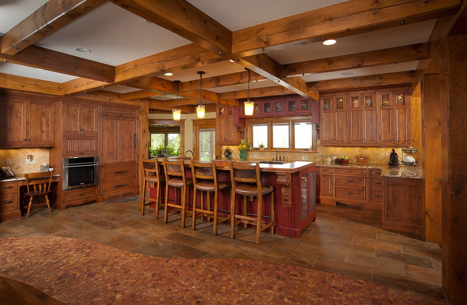 All Wood Kitchen Cabinets