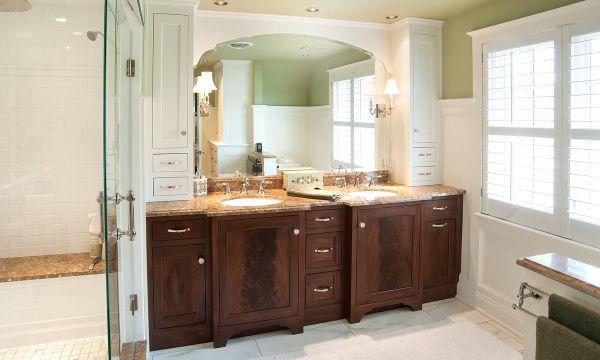 Master Bathroom Cabinet Designs