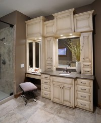 Mullet Cabinet  Custom Master Bathroom Suite