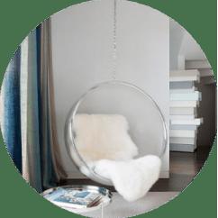 Bubble Club Chair Replica Swing Lift Des Gunstig Bei Muloco