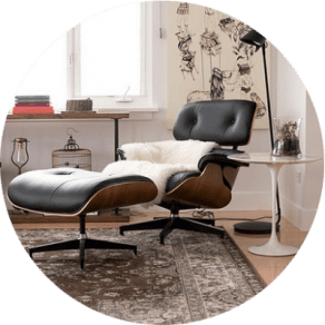 charles eames lounge chair dining room covers at kohls replica des gunstig bei muloco