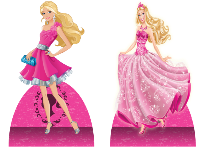 Barbie PNG fundo transparente
