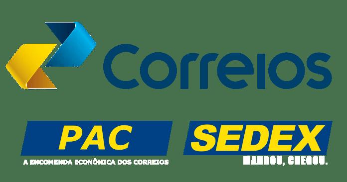 PAC e Sedex logomarca Correios