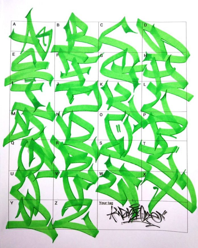 Letras de grafite