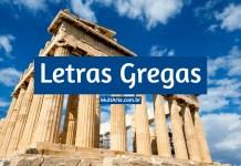letras gregas