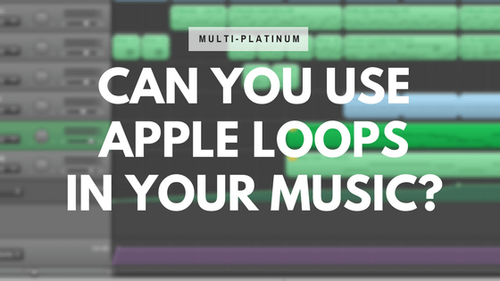 use apple loops in your music
