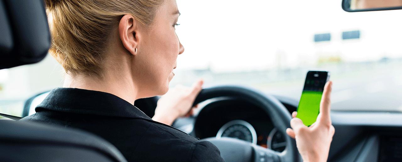 contravention cellulaire au volant et assurance