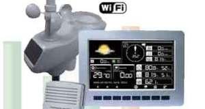 Alat Pengukur Cuaca Wireless Professional AW003