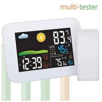 Wireless Colorful Weather Station AW005