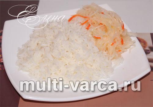 Matlaging Krasnodar ris eller andre runde korn:
