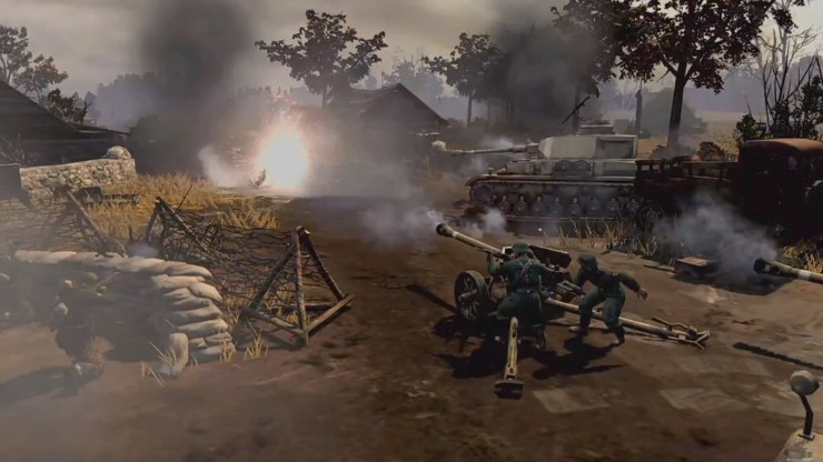 Company of Heroes 2 Debut gameplay trailer