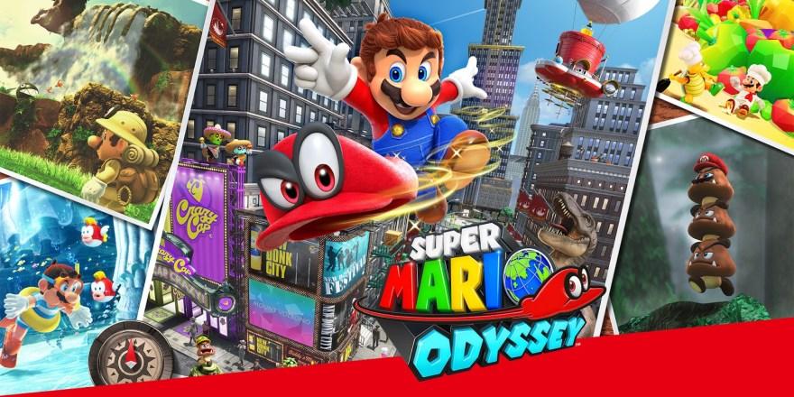 Esta semana en juegos: Super Mario Odyssey