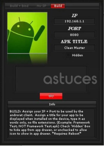 Meilleures applications de piratage Android