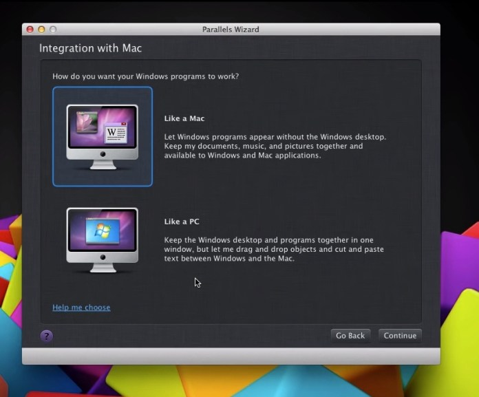 Windows sur Mac